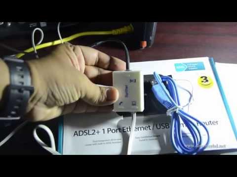 D-link DSL-2520U Setup Guide