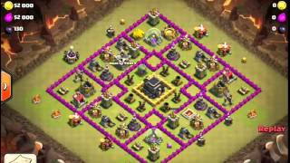 "Clash of Clans -- Hero and the Goat -- JTJ's war vs ""Money & Power"" (6/30)"