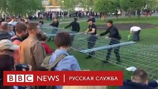 Собор, забор и «позор». Столкновения в Екатеринбурге
