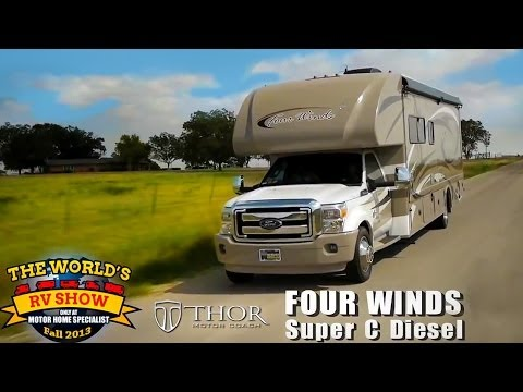 RV Reviews: New Four Winds Class C Diesel Motorhomes (Super
