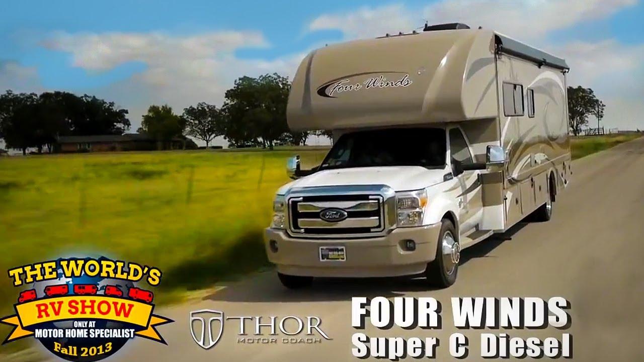 RV Reviews: New Four Winds Class C Diesel Motorhomes (Super C Diesel  Motorhomes)