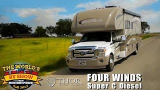 RV Reviews: New Four Winds Class C Diesel Motorhomes (Super C Diesel Motorhomes)