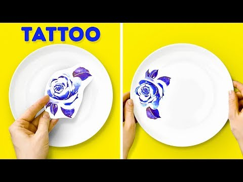 17 CREATIVE IDEAS FOR PLATES AND CUPS