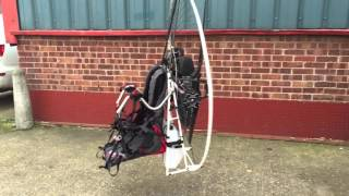 Air Conception Nitro 200 Paramotor All Up Weight Weight Only 19kg Ppg By Vince White