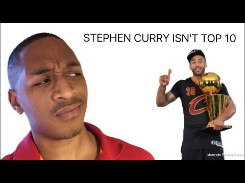 Dahntay Jones say Stephen Curry NOT Top 10 RANT!