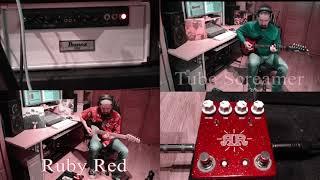 Ruby Red Jhs & Tube Screamer Ibanez