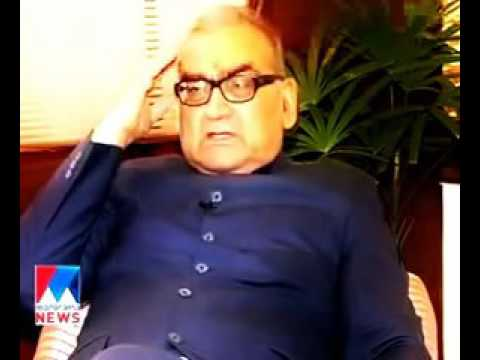 Narendra Modi is a fraud says Justice Markandey Katju Manorama