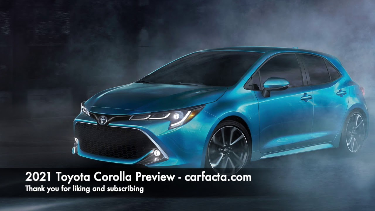 2021 Toyota Corolla Hatchback Configurations