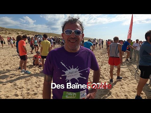 Foulée des Baïnes #8 - Patrick un Haillanais sur la course! Grand Crohot Lège-Cap Ferret