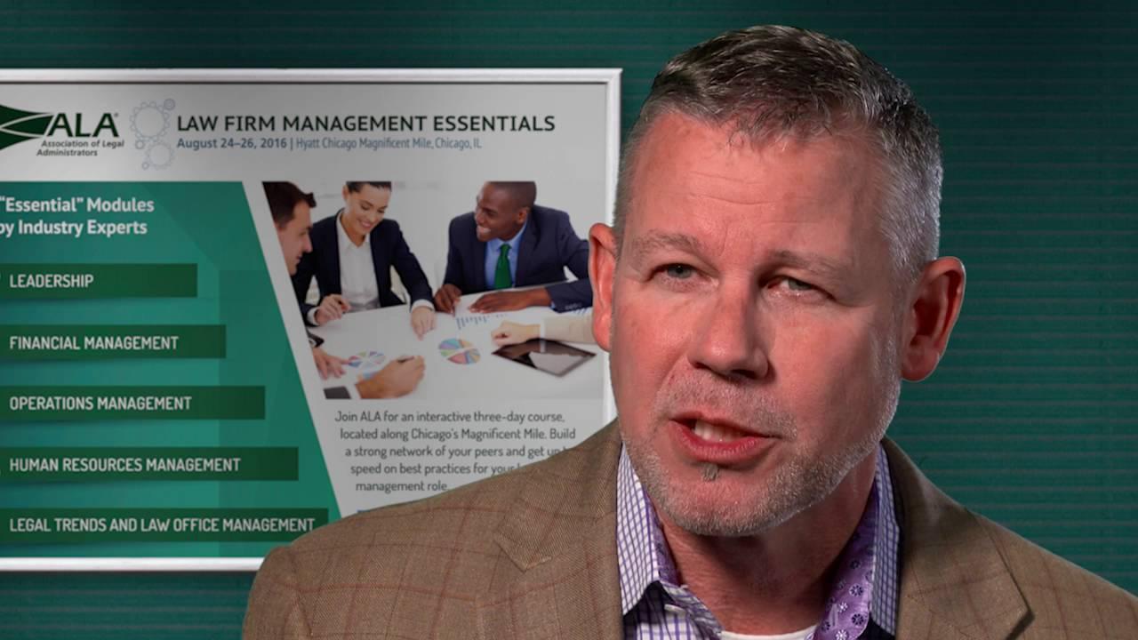2016 Law Firm Management Essentials