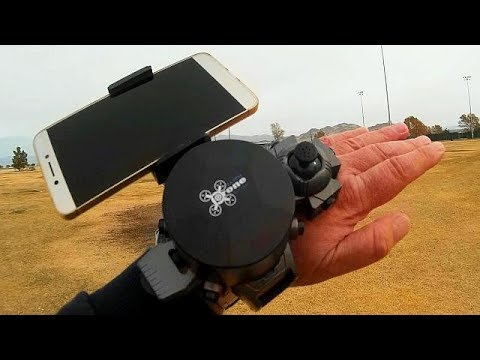 DH-800 Micro FPV Watch Drone Flight Test Review