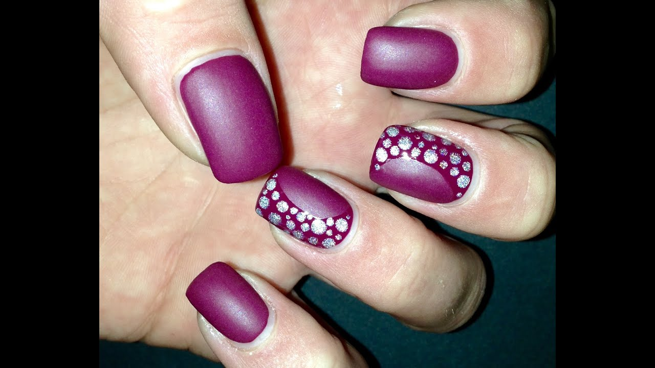 EASY DOTS DOTTING TOOLS | MATTE | Nail Art | TUTORIAL ...