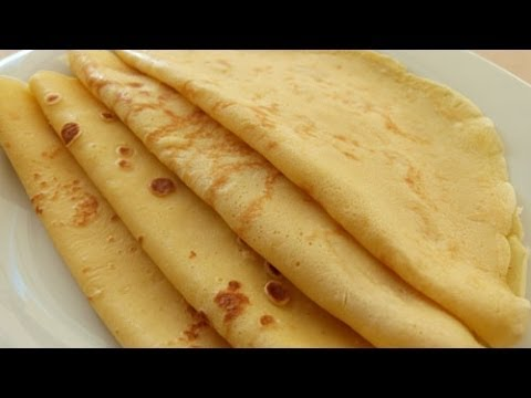 Crepes Rezept Pfannkuchen Crepes Teig Youtube