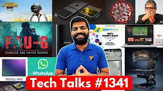 Tech Talks #1341 - PUBG Before FAUG, Whatsapp Privacy Policy, S21 108MP, Folding iPhones, 1Gbps