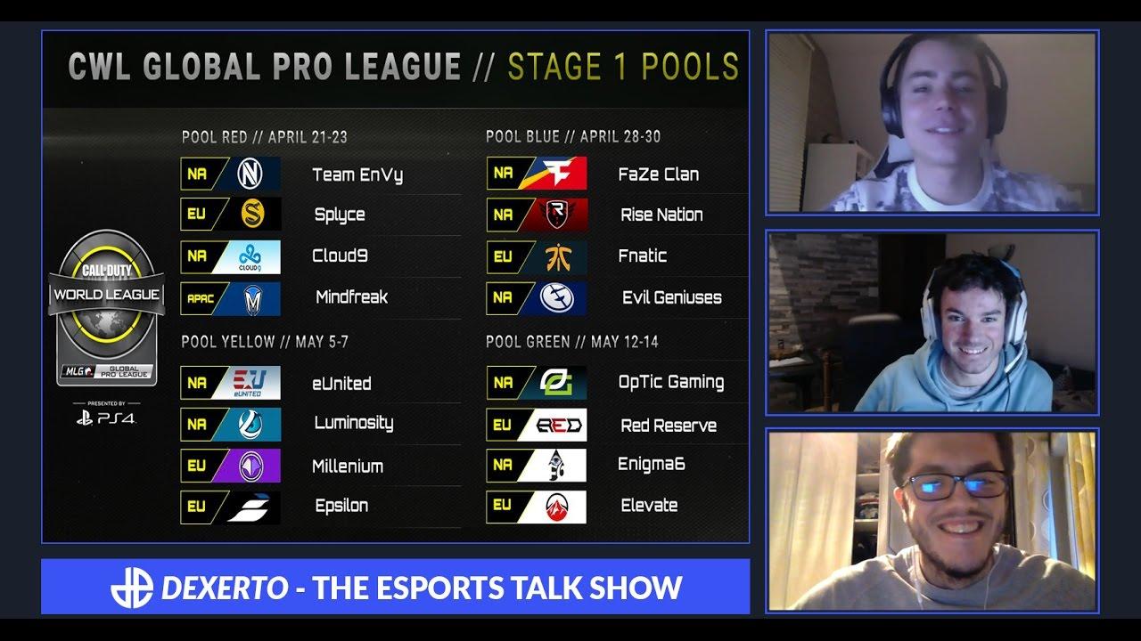 Nos impressions sur les poules de la CWL Pro League S1 | Dexerto Esports Talkshow
