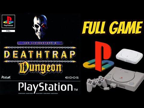 (PS1) Ian Livingstoneu0027s Deathtrap Dungeon WALKTHROUGH/LONGPLAY NO COMMENTARY