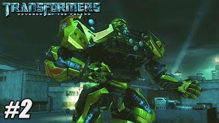 Transformers Revenge of the Fallen - Xbox 360 / PS3 Gameplay Playthrough - Autobot PART 2