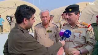 مراسل العربية يزور المحور الشمالي لمعركة الموصل