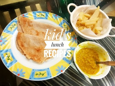 Kid's lunch recipes