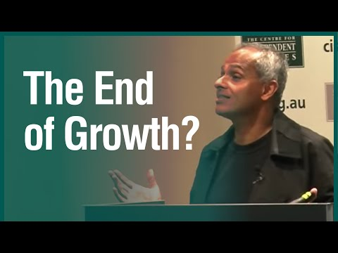 "The End of Growth? A CIS Talk by the Author of ""Extreme Money"""