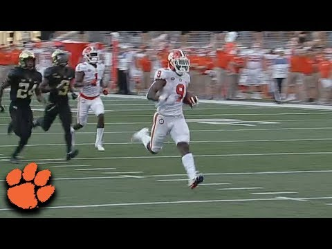 Travis Etienne, Clemson Football, Running Back   TigerNet