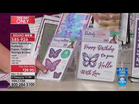 HSN | Paper Crafting Tools & Supplies 11.06.2017 - 11 PM