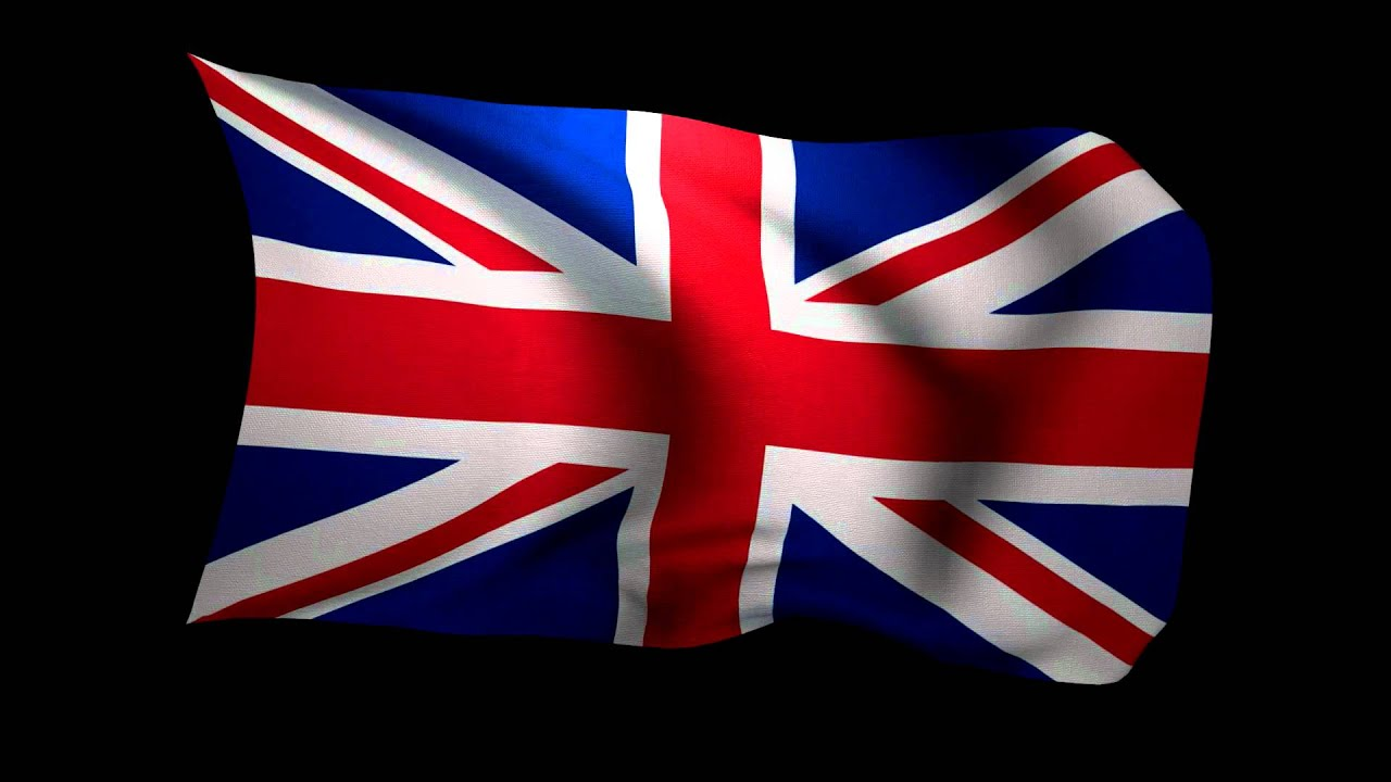3d rendering of the flag of the united kingdom waving in the wind