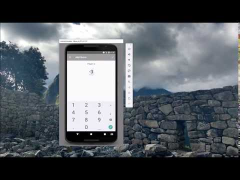 Using SQLite with Android - Simple Scorekeeper Example (bad video quality...sorry)