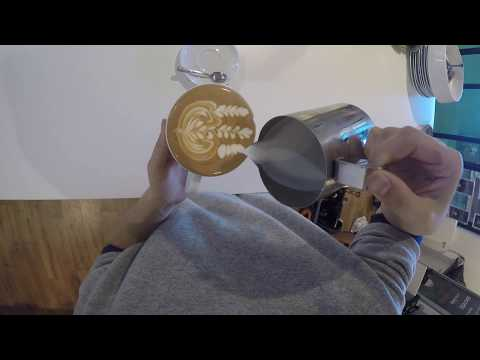 Latte Art Fun with a Go Pro