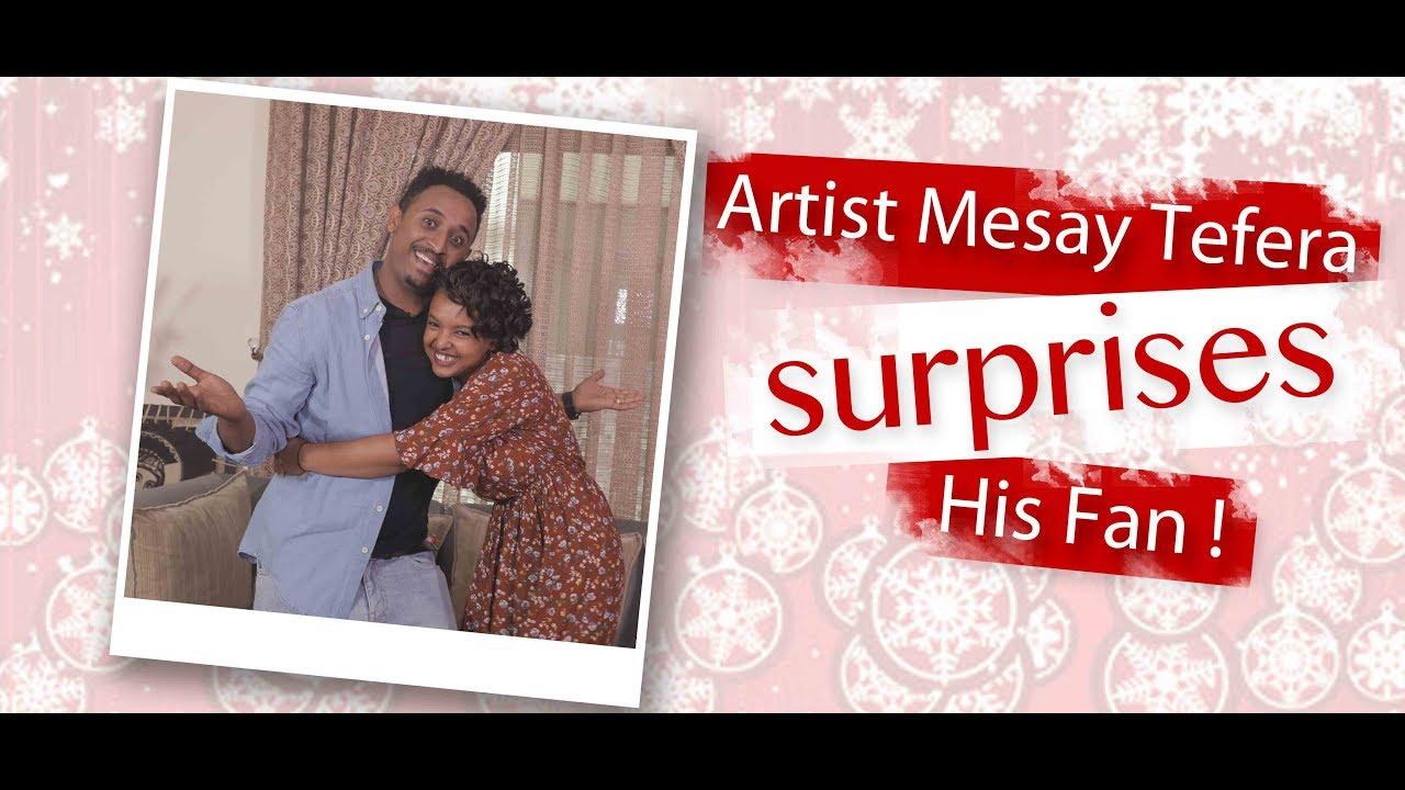 Ethiopian Artist Mesay tefera  Christmass on Fana Tv program Part 1