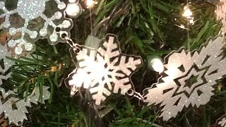Create A Sparkly Snowflake Garland - Diy Home - Guidecentral