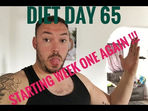 Cambridge Diet day 65 | starting the first week again!!!