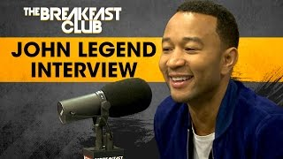John Legend Speaks On Family Values, Colin Kaepernick, Bill O