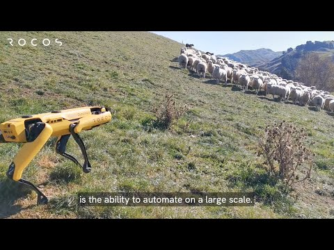 Autonomous farm work - enter the robots
