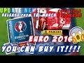 Panini Euro 2016 News UPDATE You can buy IT already! RELEASE DATE! PANINI OPENED BOX #7