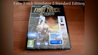 Euro Truck Simulator 2 Standard Edition Unboxing