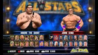 """Dolphin Emulator """"WWE All Stars""""Wii All Characters"""