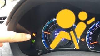 Mon voyant d'airbag reste allumé !