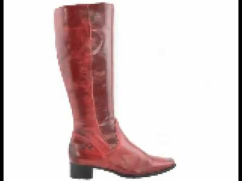 2fcc084e533 Knee length wide calf boots by Ellie Dickins Shoes - YouTube