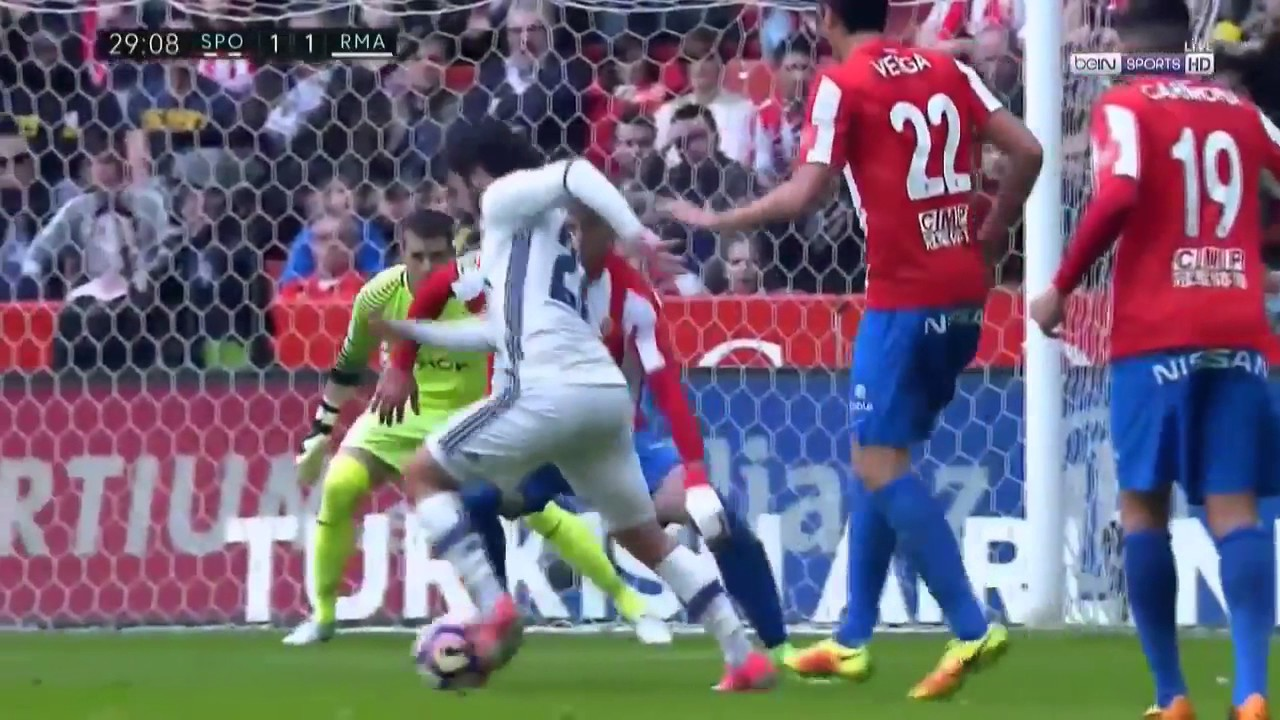 Download Sporting Gijon vs Real Madrid 2 3   All Goals & Extended Highlights   La Liga 15 04 2017 HD