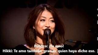Hikaru Utada-Crying like a child Live ( In the Flesh 2010) Sub español