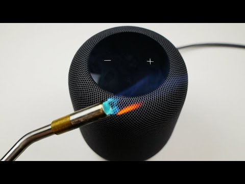 Apple HomePod vs Gas Torch - What Will Happen?