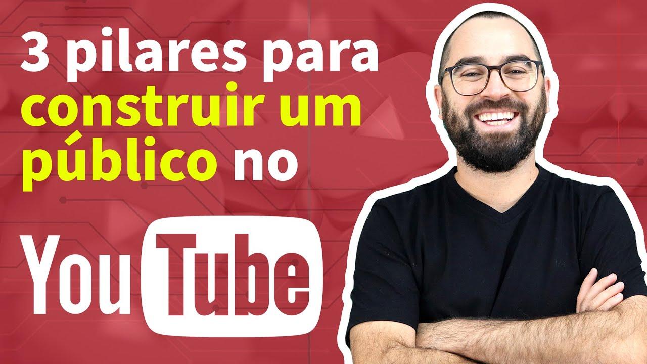 Os 3 pilares de um canal de EDUCAÇÃO no YouTube (Teaser)