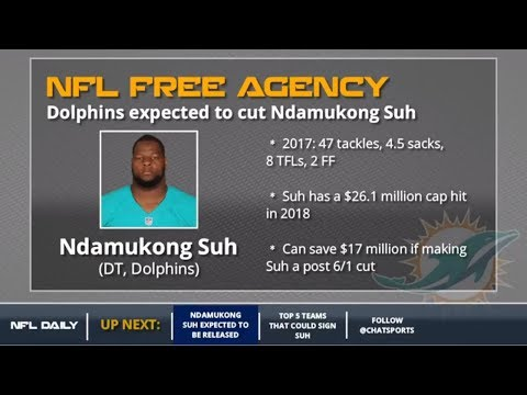 Ndamukong Suh: 5 NFL Teams That Could Sign Him Once The Dolphins Cut Him
