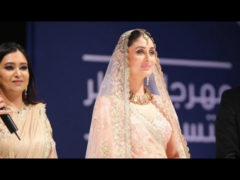 Beautiful Kareena Kapoor khan in Doha(Qatar) for Vikram Phadnis's  Event