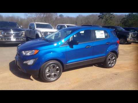 2019 Ford EcoSport S - Lightning Blue - Quick Walkaround