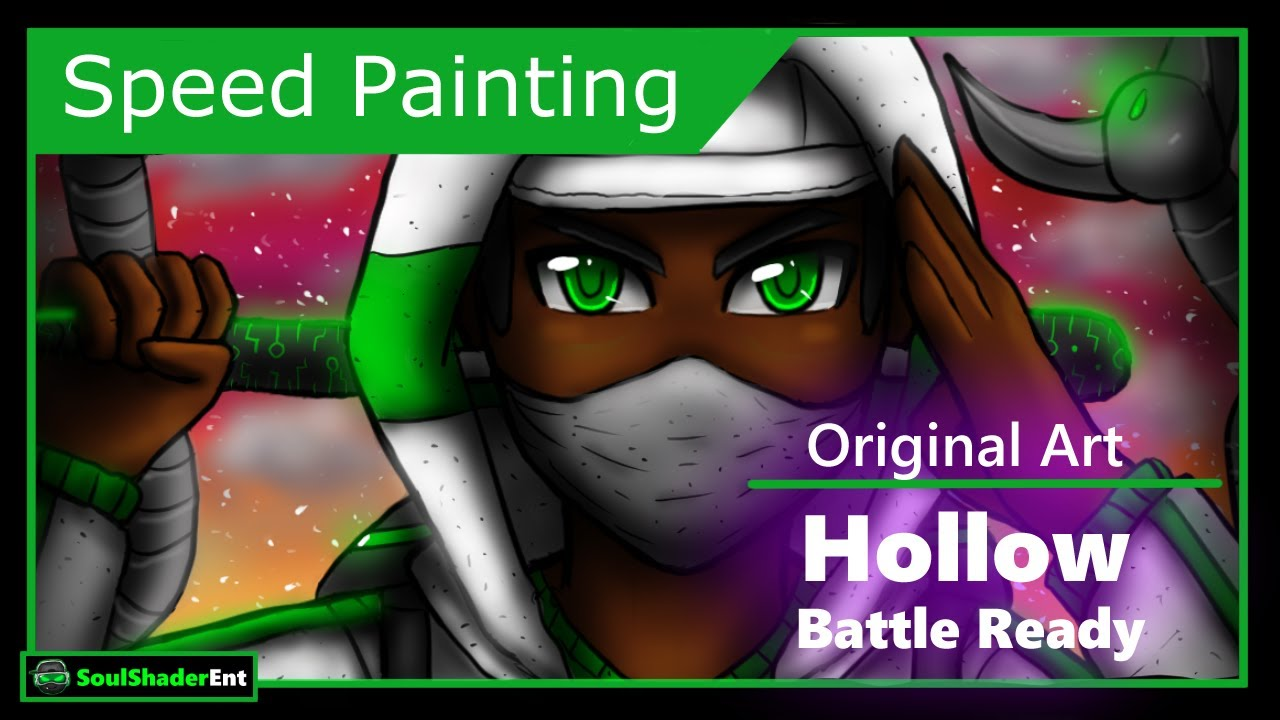 ❇️Hollow Battle Ready Speed Drawing