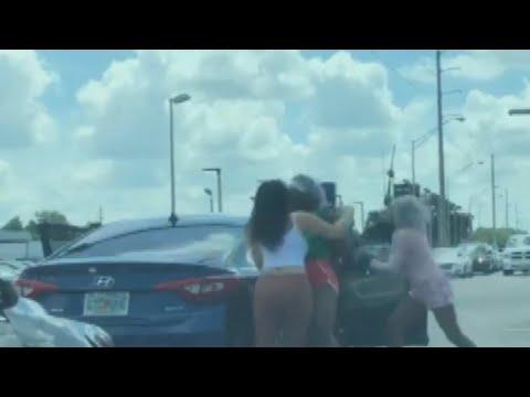 Bradenton road rage incident caught on camera