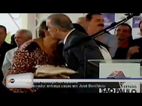 Governador entrega casas em José Bonifácio