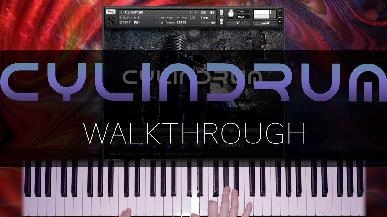 New Cylindrum version 3 0 by SoundIron - Deep, punchy synth-like